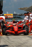 Ferrari f200 marlboro scuderia Zdjęcia Royalty Free