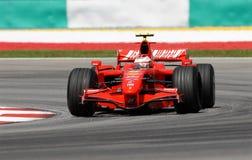 Ferrari f2007 płetwy kimi marlboro raikkonen scuderia Fotografia Stock