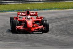 Ferrari f2007 płetwy kimi marlboro raikkonen scuderia Zdjęcia Stock