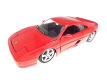 Ferrari F355. A red model of a Ferrari F355 Stock Images