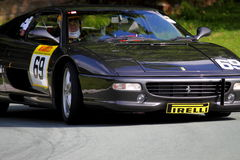 Ferrari F355 at hill climb event Stock Image