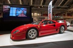 Ferrari F40 Stockbild