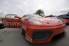 Ferrari F430 parked Stock Images