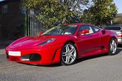 Ferrari F430 Supercar Stockbild
