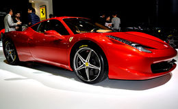 Ferrari F458 photos stock