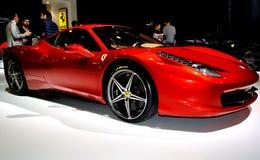 Ferrari F458 Fotografie Stock