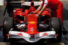 Ferrari f60 f1 car Royalty Free Stock Image