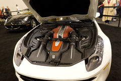 Ferrari FF. HOUSTON - JANUARY 2012: The Ferrari FF sports car at the Houston International Auto Show on January 28, 2012 in Houston, Texas Stock Images