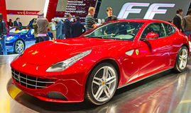 Ferrari FF Fotografia Stock Libera da Diritti