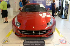 Ferrari FF. Italian car Ferrari FF at the Ferrari museum in Maranello Royalty Free Stock Image