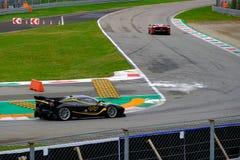 Ferrari finału rasa 2018 zdjęcie stock