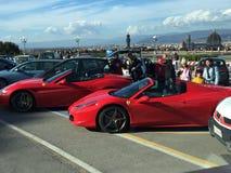 Ferrari-Florence royalty-vrije stock afbeelding
