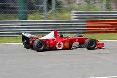 Ferrari formel en f2004 Arkivfoto