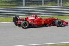 Ferrari formel en 248 f1 Royaltyfria Foton