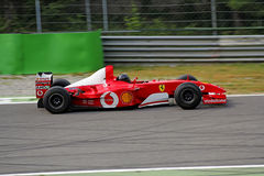 Ferrari formel en f2004 Royaltyfri Foto