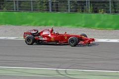 Ferrari formel en f2008 Royaltyfria Bilder