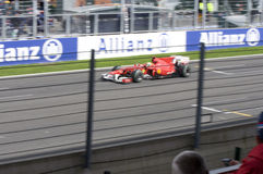 Ferrari Formula 1 Race Car Stock Photo