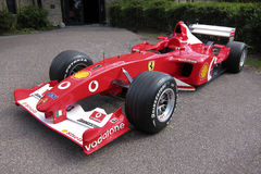 Ferrari formula 1 on display Royalty Free Stock Photography