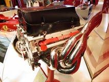 Ferrari Formula Engine Stock Photo