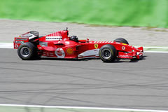 Ferrari formula one f2005 Royalty Free Stock Photos