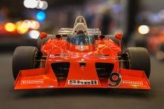 Ferrari Formule 1 royalty-vrije stock foto