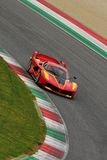 Ferrari FXX K Test al Mugello 2016 Royalty Free Stock Image