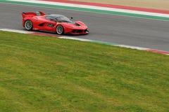 Ferrari FXX K Test al Mugello 2016 Stock Image