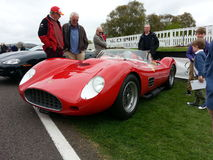 Ferrari. Goodwood Soft Top Sunday Royalty Free Stock Images