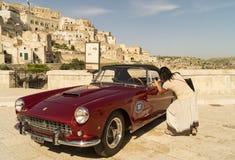 Ferrari GT foto de archivo libre de regalías