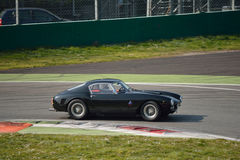 Ferrari 250 GT Berlinetta SWB test 2016 at Monza. This classic Ferrari 250 GT is tested at Monza in preparation of the historic cars racing season Royalty Free Stock Images