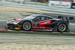 Ferrari 458 GT3.  Blancpain GT Series Championship Royalty Free Stock Images