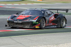 Ferrari 488 GT3.  Blancpain GT Series Championship Royalty Free Stock Photography
