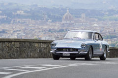 Ferrari 330 GT 2+2 driven by Straub Peter Stock Images