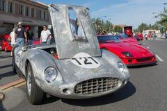 Ferrari 250 GT på dusplay Royaltyfria Foton