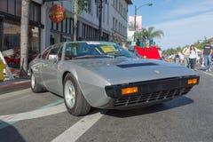 Ferrari GT4 på skärm Royaltyfri Foto