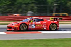 Ferrari 458 GT3 racing Stock Photos
