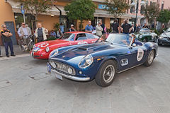 Ferrari 250 GT Spyder Kalifornien (1961) Arkivfoton