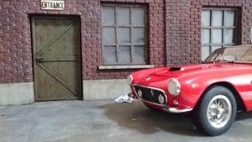 Ferrari 250 GT SWB berlinetta model car diorama Stock Photography