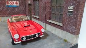 Ferrari 250 GT SWB berlinetta model car Stock Images