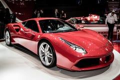 Ferrari 2015 488GTB Photographie stock