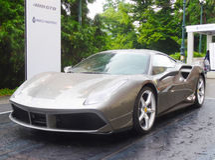 Ferrari 488 GTB Stockfoto