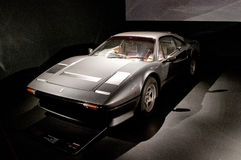Ferrari 308 GTB em Museo Nazionale dell'Automobile Imagem de Stock