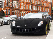 Ferrari 599 gtb fiorano 免版税库存图片