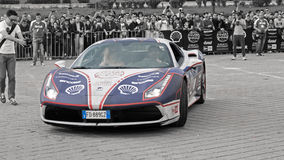 Ferrari 488GTB - Gumball 3000 - 2016 Edition - Dublin to Bucharest Stock Photo