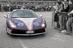 Ferrari 488GTB - Gumball 3000 - 2016 Edition - Dublin to Bucharest Stock Images