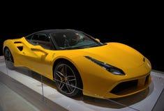 Sports Car Isolated - Ferrari 488 GTB Royalty Free Stock Photography