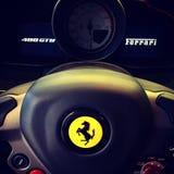 Ferrari 488GTB London Lizenzfreies Stockfoto