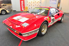 Ferrari 308 GTB racing - Retro Auto Saloon Stock Images