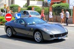 Ferrari 599 gtbfiorano Arkivbilder