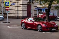 Ferrari 599 gtbfiorano Fotografering för Bildbyråer